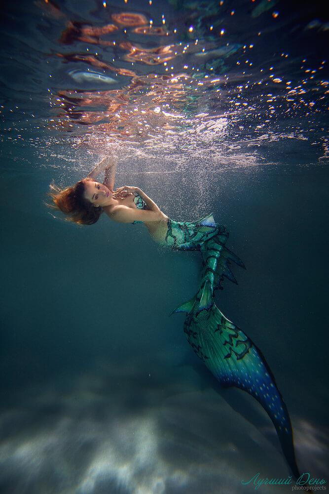 русалка под водой красивые картинки